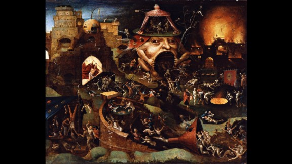 """""""Christ in Limbo,"""" painted by Dutch artist Hieronymus Bosch about 1575, told people what their fate would be if they didn't follow Christ. Today, Bosch may fascinate us for other reasons."""