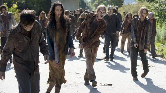 Zombies from TV