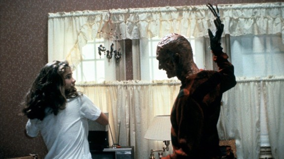 """Some people like seeing Freddy Krueger in """"A Nightmare on Elm Street"""" because they feel a sense of calm and happiness when the movie is over."""