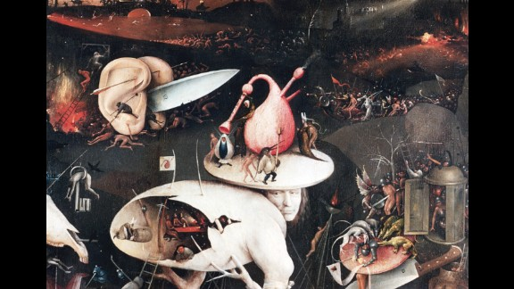 This detail of hell from Bosch