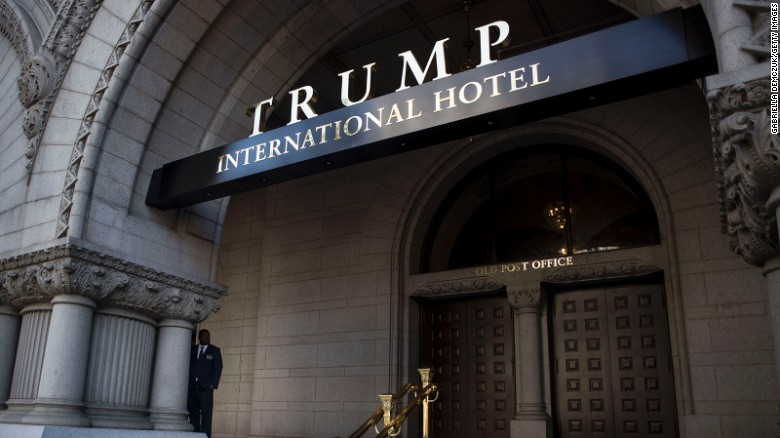 Trump's new hotel poses conflict of interest