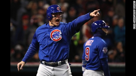 Cubs level World Series with first Fall Classic win since 1945