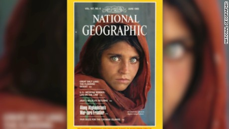 Sharbat Gula was 12 when photographer Steve McCurry captured his iconic image of her living in a refugee camp.