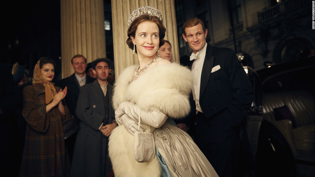 The Netflix historical drama 'The Crown' scored 13 nominations, including one for outstanding drama.