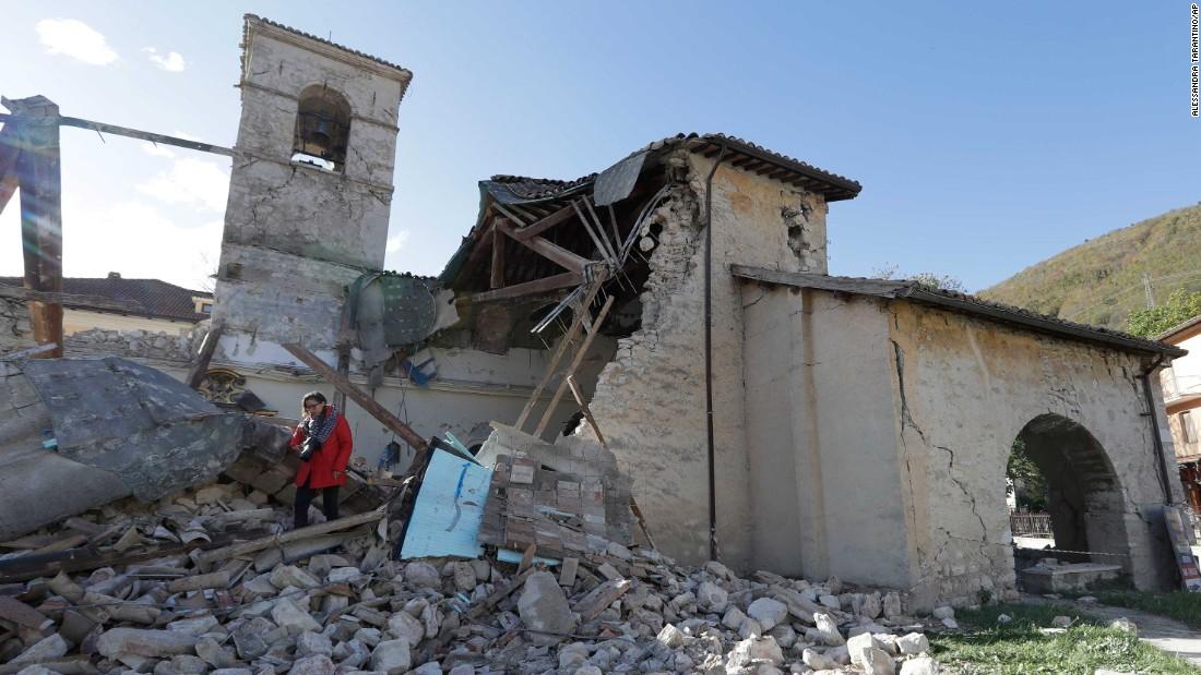 903cc171f17ec5 Italy earthquakes  More aftershocks in region - CNN