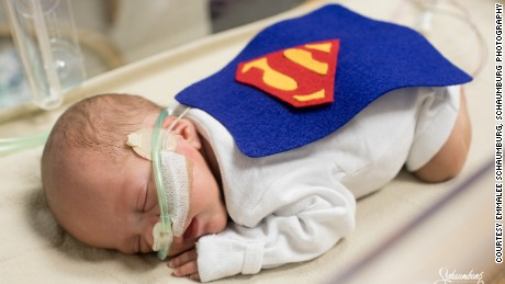 Is there anything cuter than these tiny NICU tots in Halloween costumes?
