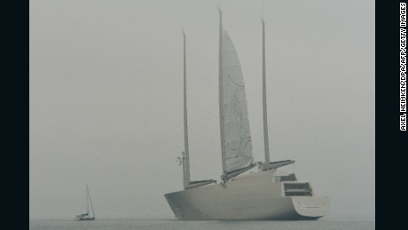 Sailing Yacht A World S Tallest Superyacht Closer To Launch Cnn