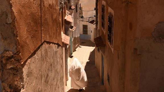 The country's cities are full of narrow streets and buzzing markets which creates a look reminiscent of the middle east.