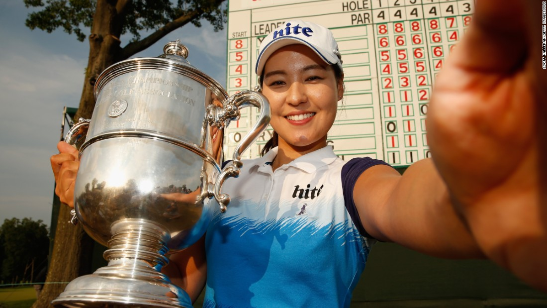 "In Gee Chun is a double major winner and the 22-year-old says Pak was the catalyst for a host of golfing prodigies in the country: ""Se Ri has raised the standard of Korean golf and helped the careers of so many players. Not only that, her success has lifted the whole golf industry in the country."""