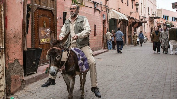 """In his new comedy, """"Army of One"""", Nicolas Cage plays an American civilian who sets off to Pakistan to hunt down Osama Bin Laden, as seen in the newly released trailer."""