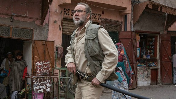 The film was shot earlier this year in the southern Moroccan towns Ouarzazate and Marrakech -- which doubles for Pakistan's capital Islamabad.