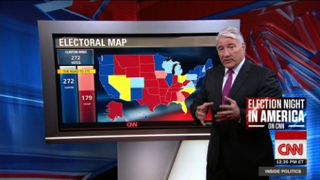 New electoral map Clintons election night plan CNN Video