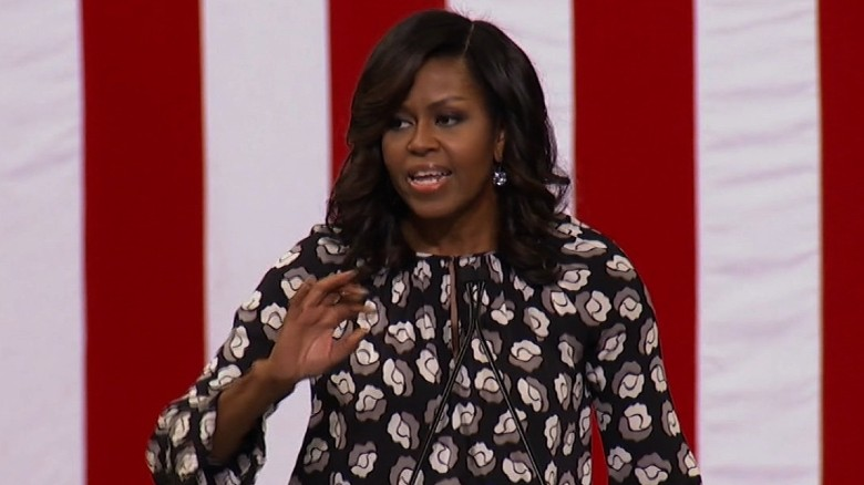 Michelle Obama: Clinton ready to be president on Day 1