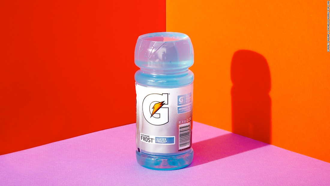 For a 20-ounce bottle of Gatorade, there are 33 grams of sugar in about 97% of the bottle.