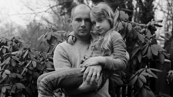 Photographer Matt Eich and his daughter Madelyn