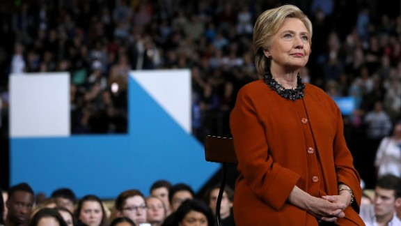 WINSTON-SALEM, NC - OCTOBER 27:  Democratic presidential nominee former Secretary of State Hillary Clinton looks on as First Lady Michelle Obama speaks during a campaign rally at Wake Forest University on October 27, 2016 in Winston-Salem, North Carolina. With less than two weeks to go before the election, Hillary Clinton is campaigning in North Carolina with First Lady Michelle Obama.