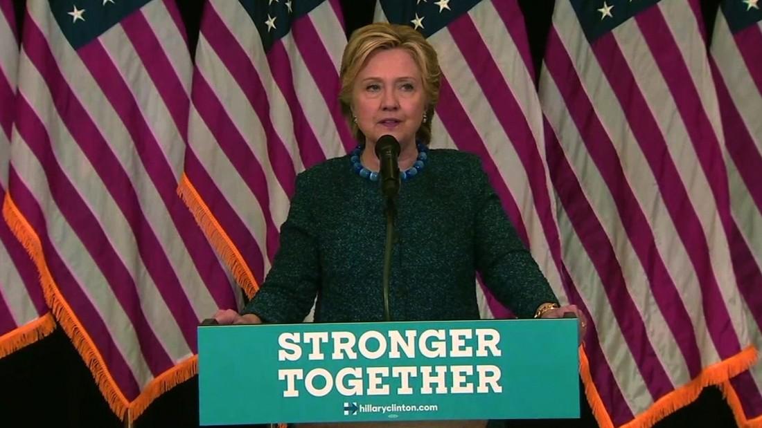 Hillary Clinton\'s entire FBI email probe statement - CNN Video