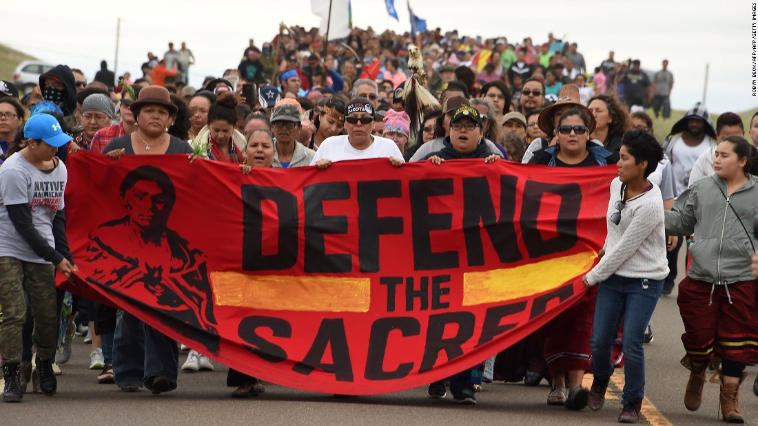 Not all the Standing Rock Sioux are protesting the pipeline