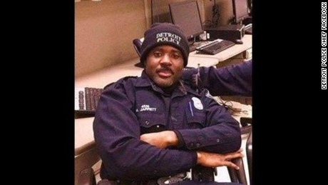 Detroit Mayor Mike Duggan has identified the slain Detroit Police officer as Officer Myron Jarrett, according to a tweet from the Mayorís verified Twitter account.