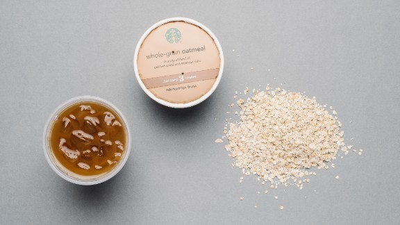 If you are looking to shed pounds but still enjoy Starbucks, you can't go wrong with classic whole-grain oatmeal. The lowest-calorie options at the coffee chain include unsweetened iced coffee with nonfat milk.