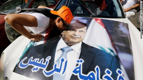 Michel Aoun's presidency ends 29-month leadership vacuum in ...