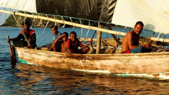 The Melanesian people of Papua New Guinea.