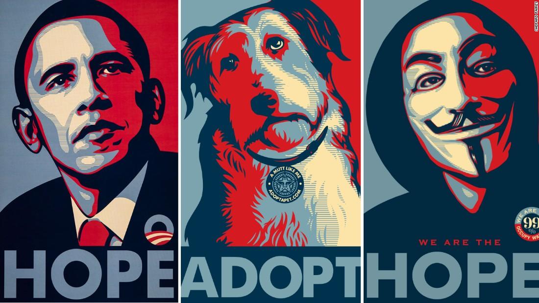 poster politics the art of persuasion cnn style