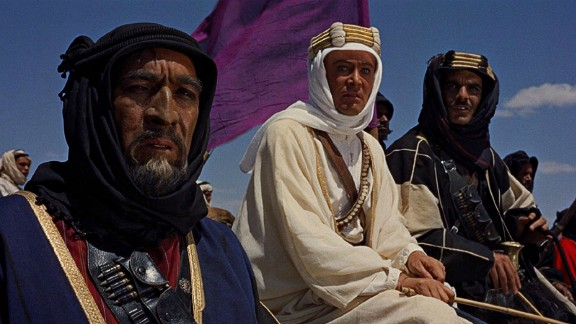 """Morocco's studios have been popular in Hollywood for a long time. Among the earliest classics shot here are Alfred Hitchcock's """"The Man Who Knew Too Much"""", Orson Welles' """"Othello"""" and """"Lawrence of Arabia"""", starring Peter O'Toole, pictured here in the middle."""