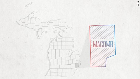 One county to watch on Election Night is Macomb County, Michigan.