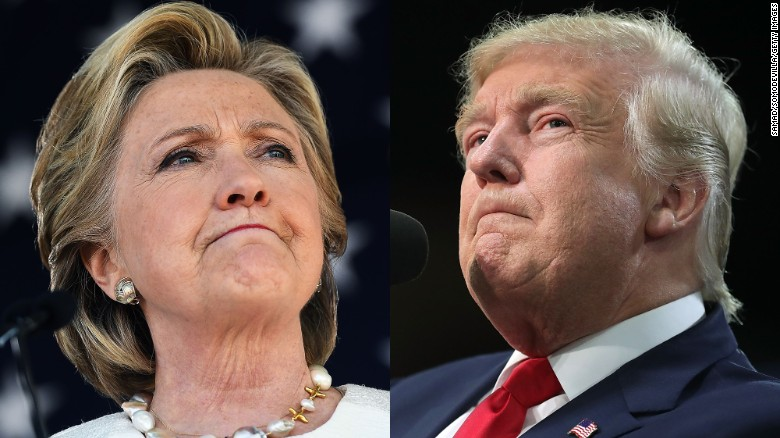 New polls are good news for Clinton and Trump