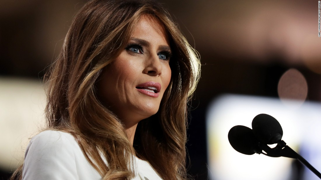"Trump's wife, Melania, delivers a speech at the convention on July 18, 2016. ""If you want someone to fight for you and your country, I can assure you, he's the guy,"" she said of her husband. Afterward, <a href=""http://www.cnn.com/2016/07/18/politics/melania-trump-speech-2016-rnc/index.html"" target=""_blank"">it was revealed</a> that passages of her speech were taken from Michelle Obama's 2008 speech at the Democratic National Convention. A speechwriter <a href=""http://www.cnn.com/2016/07/20/politics/donald-trump-campaign-organization/"" target=""_blank"">identified herself as the person responsible for the plagiarism,</a> and she offered her resignation. The Trumps did not accept. ""She made a mistake. ... We all make mistakes,"" Donald Trump told ABC News."
