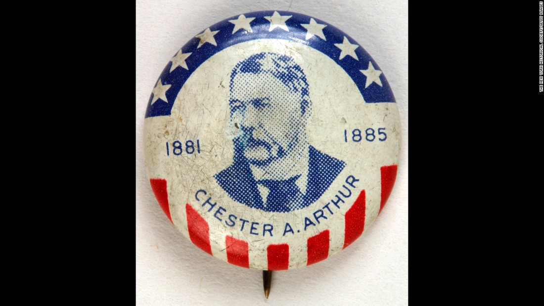 Chester A. Arthur, the 21st President of the United States, took office after the assassination of James A. Garfield.