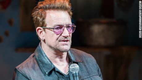 Bono has been named Glamour's first Man of the Year.