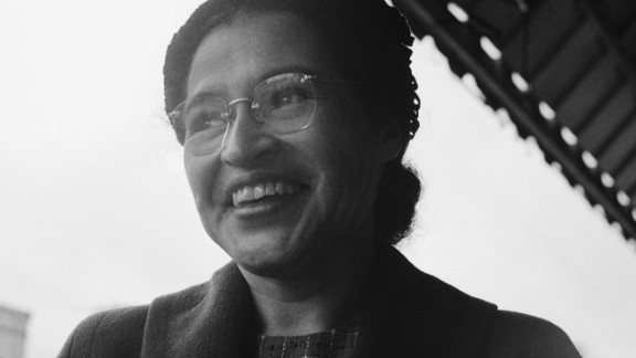 Rosa Parks, the civil rights icon, died in 2005.