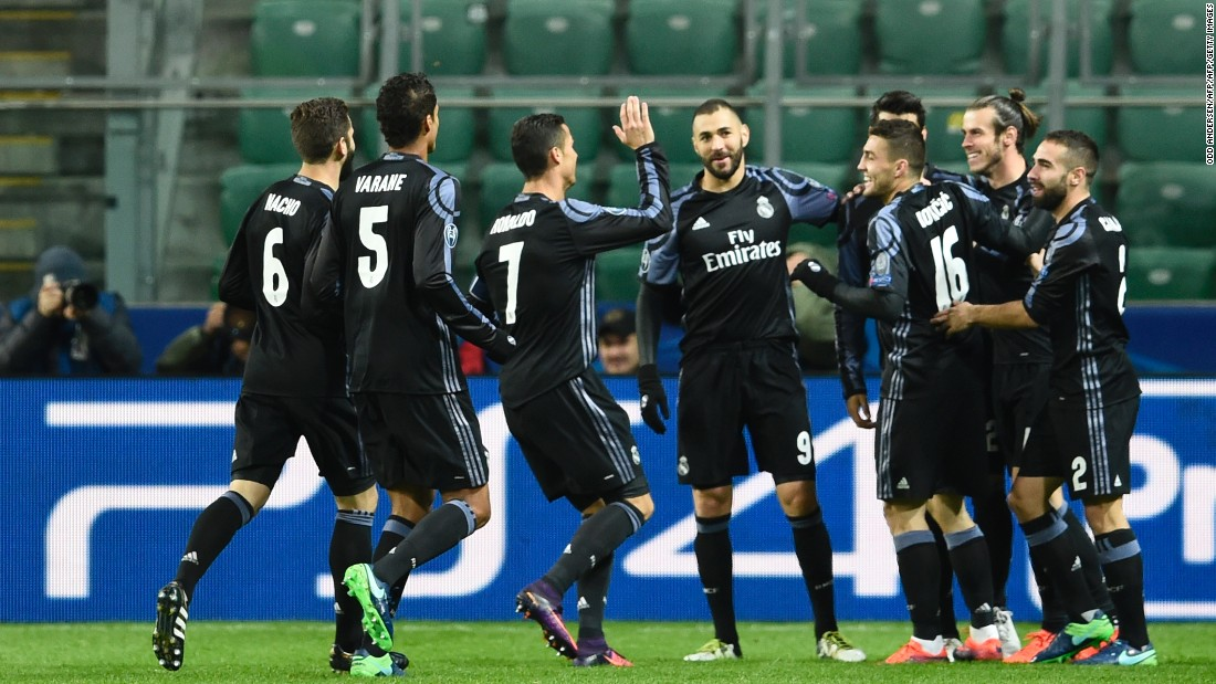 The match started as expected and Real Madrid took the lead after just 57 seconds -- its fastest ever Champions League goal -- thanks to a stunning Gareth Bale volley.
