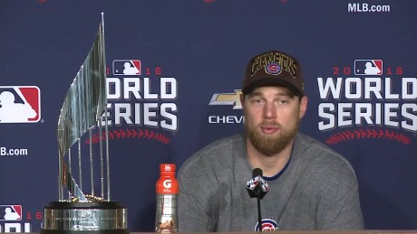 chicago cubs win world series presser zobrist sot _00000111