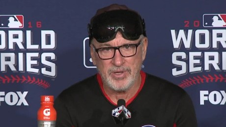 Chicago Cubs World Series win joe maddon presser sot_00000104.jpg