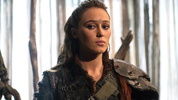Alycia Debnam-Carey as Lexa in an episode of CW's 'The 100.'