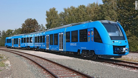 The world's first hydrogen-powered emission-free train, the Coradia iLint from Alstom, is set to go into service in Germany at the end of 2017.