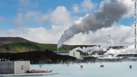 Iceland makes creative use of its unusual geology, with geothermal power used to maintain spas.