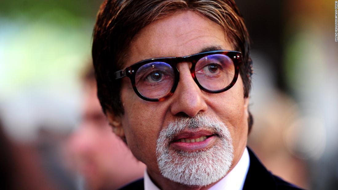 Bollywood star Amitabh Bachchan hospitalized for coronavirus