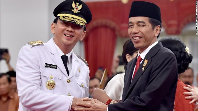 Blasphemy protests indonesian police investigating christian ahok succeeded indonesian president joko widodo as governor of jakarta in 2014 stopboris Choice Image