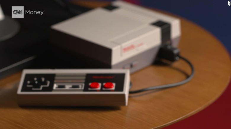 Hands on with Nintendo's retro-style mini console