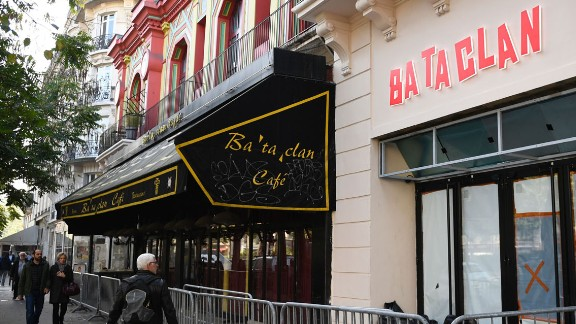 The Bataclan has been closed since the attack almost a year ago