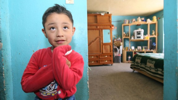 """Edgar Hernandez, a 5-year-old living in La Gloria, Mexico, was believed to be """"patient zero"""" in the 2009 swine flu, or H1N1, outbreak. He survived swine flu, which his mother believed developed due to a pig in the neighborhood."""