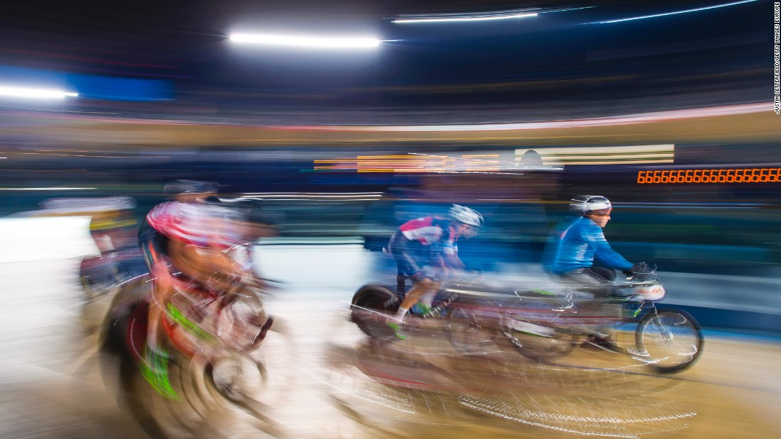 High speeds are a feature of Derny racing in Six Day competitions throughout Europe with speeds often well over 46 mph.