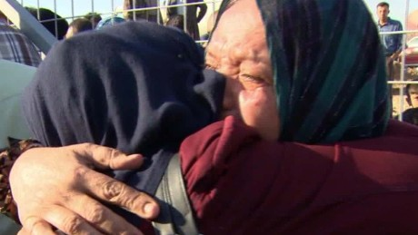 Families reunite after escaping ISIS