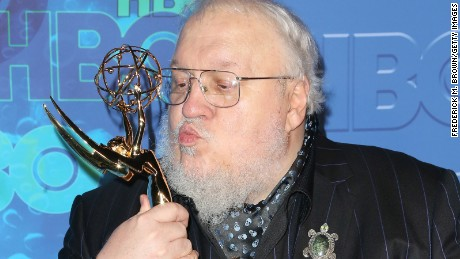 George R. R. Martin attends HBO's 2016 Emmy after party in Los Angeles.