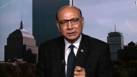 'We are disappointed': Gold Star dad Khizr Khan says of Trump win