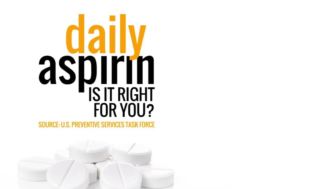 Medical guidelines say daily aspirin is too risky for most healthy people. A new study says some can benefit